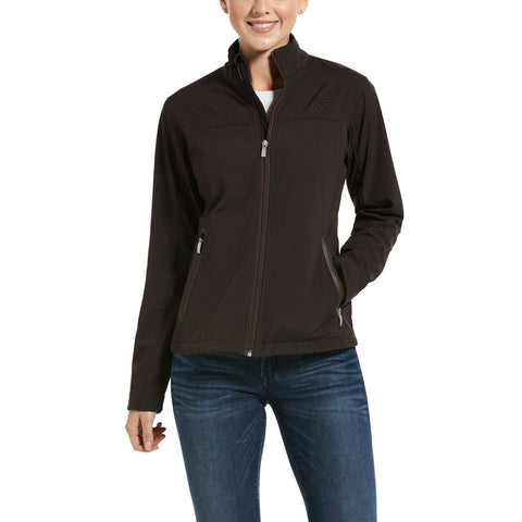 Ariat® Ladies Coffeebean Classic Team Softshell Jacket 10033520