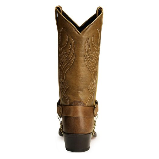 Sage by Abilene Men's Distressed Brown Harness Western Cowboy Boots 3012 - Wild West Boot Store