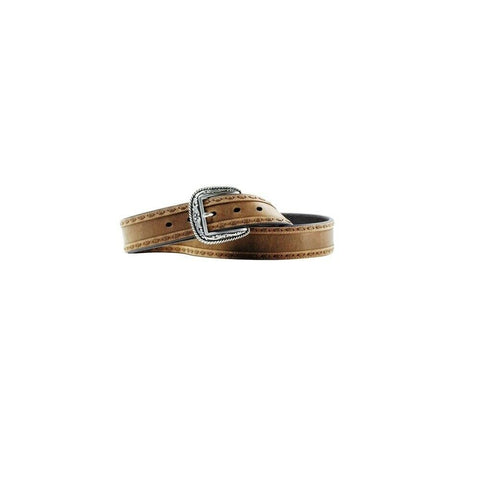 Ariat Men's Brown Buckstitch Leather Belt A10006949