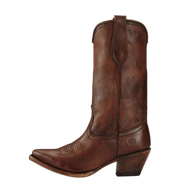 Ariat® Ladies Josefina Naturally Distressed Brown Boots 10019979 - Wild West Boot Store