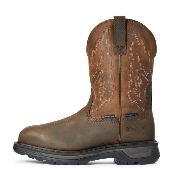 Ariat® Men's Brown Big Rig Waterproof Composite Toe Work Boot 10033993