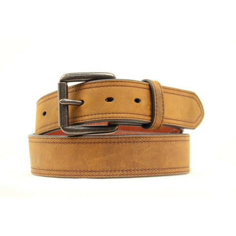 Ariat Men's Basic Tan Leather Belt A1012702