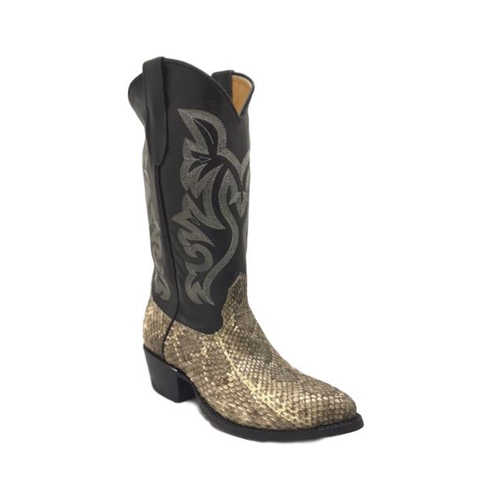 Cowtown Men's Rattlesnake Exotic J Toe Western Boots J715