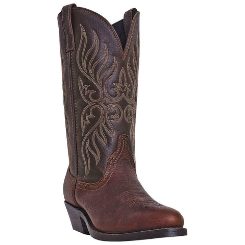 Laredo Ladies Kelli Copper Kettle Round-Toe Boots 5752