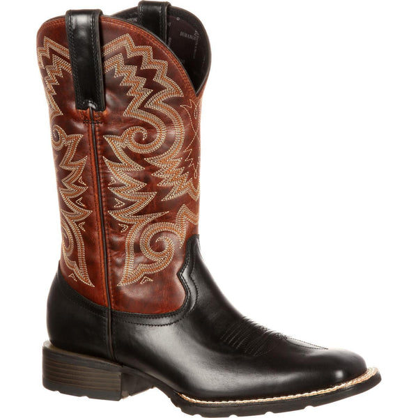 Durango Men's Mustang Brown & Black  Square Toe Boot DDB0081 - Wild West Boot Store