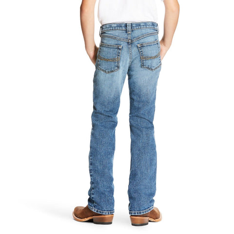 Ariat® Boy's B4 Relaxed Legacy Stretch Boot Cut Jeans 10025971 - Wild West Boot Store