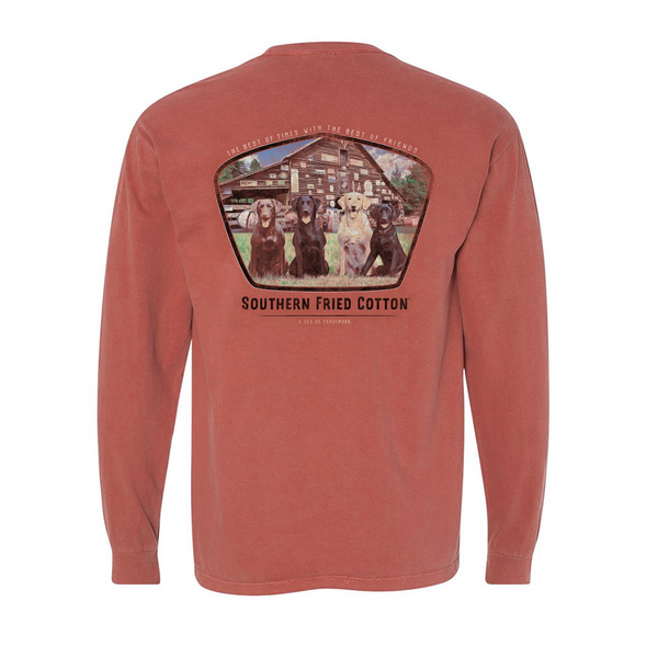 Southern Fried Cotton Best Of Times Cumin LS T-Shirts SFM31482