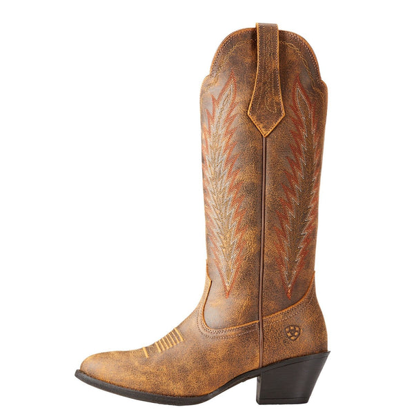 Ariat® Ladies Desert Sky Vintage Bomber Brown Boots 10023130 - Wild West Boot Store