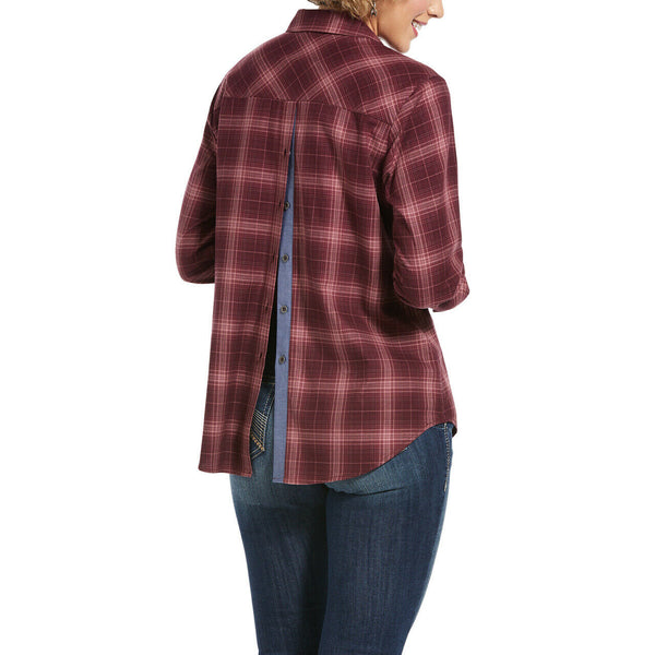 Ariat® Ladies Red Plaid Day Dream Shirt 10032861