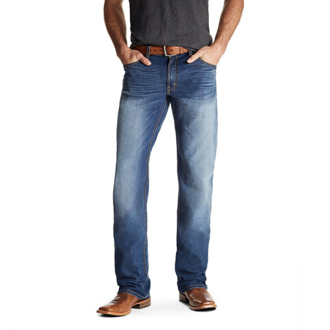 Ariat® Men's Relentless Relaxed Double Stitch Stretch Jeans 10020779