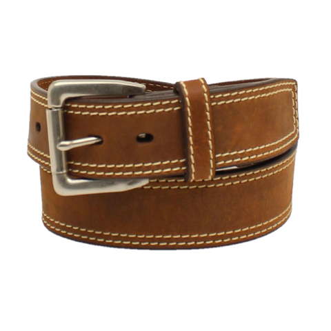 Ariat Men's Brown Leather Belt A1037044