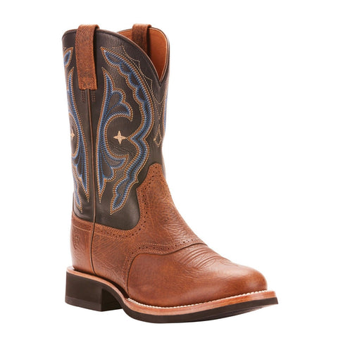 Ariat Men's Cobalt Quantum Crepe Earth Brown Boots 10025104 - Wild West Boot Store