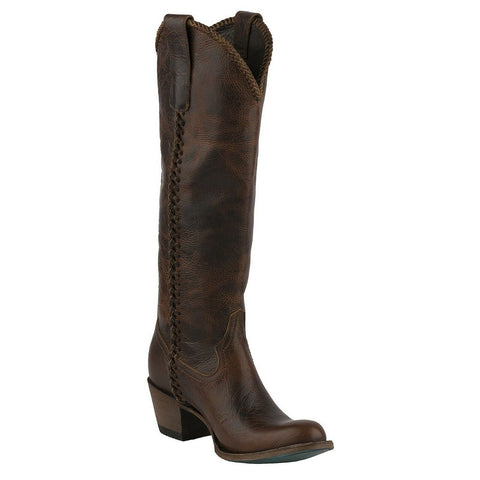 Lane Ladies Cognac Plain Jane Boots LB0350I
