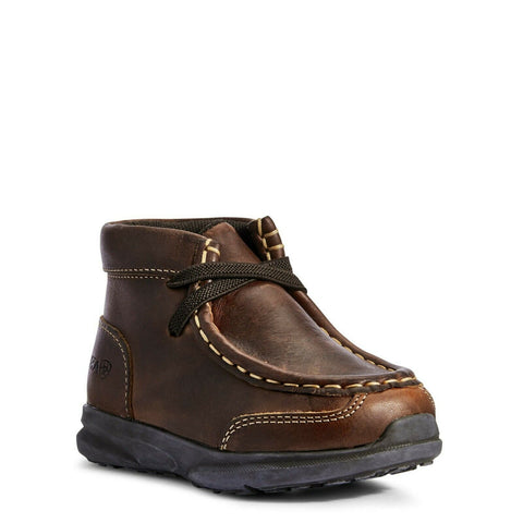 Ariat Toddler Lil' Stomper Brown Garrison Spitfire Shoes A443000202
