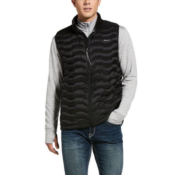 Ariat® Men's Black Ideal Down Vest 10032790