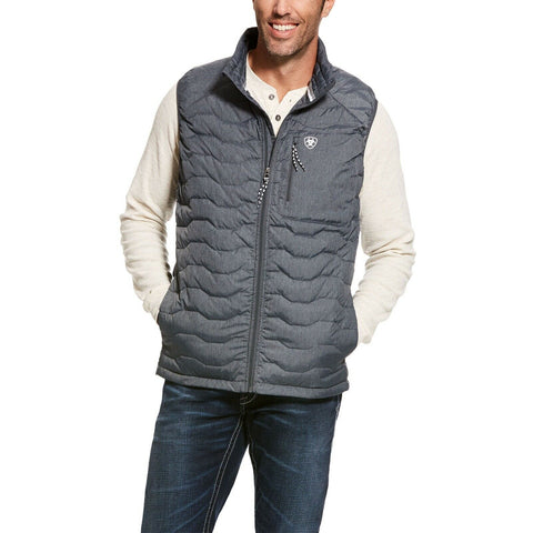 Ariat Men's Ideal 3.0 Grey Down Insulated Packable Vest 10028425