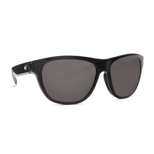 Costa Bayside Shiny Black with Gray Plastic Lens Sunglasses BAY 11 OGP