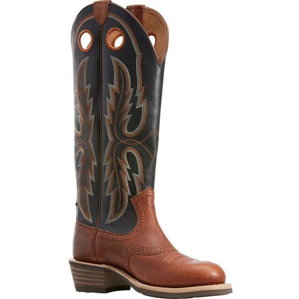 Ariat® Men's Rusted Copper & Black Heritage Stockyard Boots 10029697