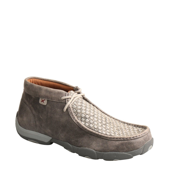 Twisted X Men's Casual Gray Driving Mocs MDM0073