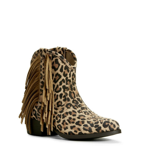 Ariat Children's Duchess Leopard Western Boots 10027286