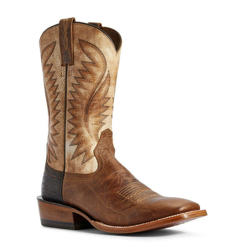 Ariat® Men's Clay and Tarnished Alabaster Ringer Boots 10031457