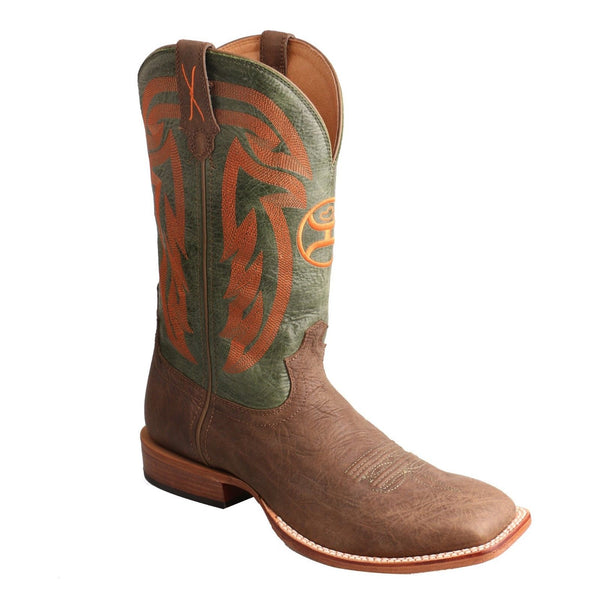 Twisted X Men's Hooey Crazy Horse Shoulder/Olive Boots MHY0021