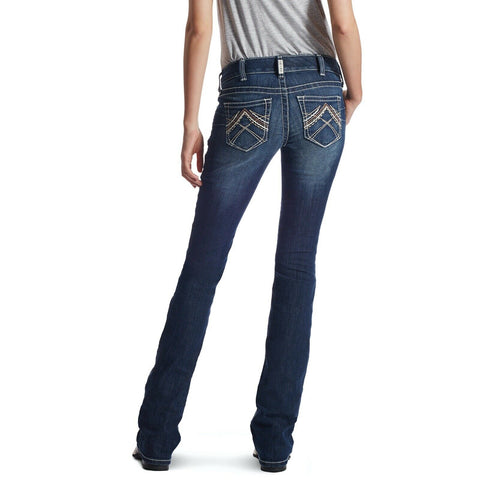 Ariat® Ladies R.E.A.L™ Low Rise Stretch Rosy Boot Cut Jeans 10018351