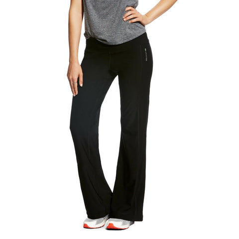 Ariat® Ladies Black Circuit Stretch Yoga Pants 10021958 - Wild West Boot Store