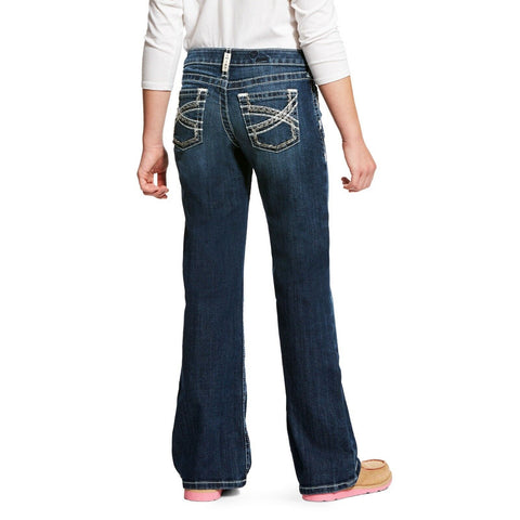 Ariat® Girl's REAL Dresden Bootcut Entwined Stretch Jeans 10025984