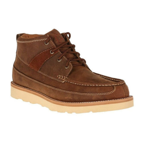 Twisted X Men's Oiled Saddle Crepe Sole Casual Shoe MCA0007 - Wild West Boot Store