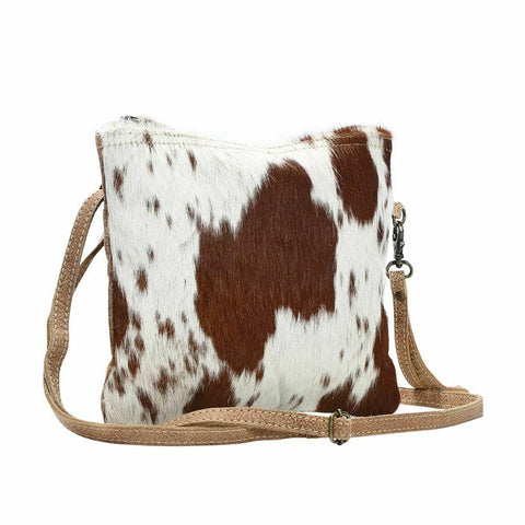 Myra Bag White & Brown Shade Bag S-1171