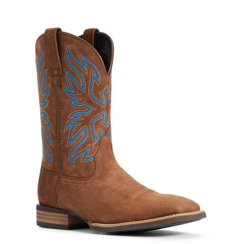 Ariat Men's Distressed Tan Everlite Vapor Western Boot 10033905