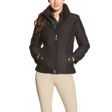 Ariat Ladies Terrace Black Insulated Weatherproof Jacket 10017815