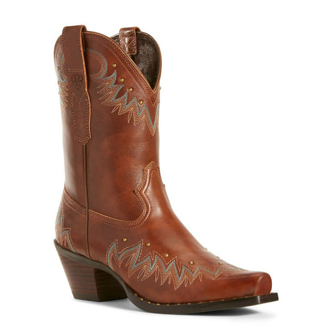 Ariat Ladies Antique Nutmeg Potrero Boots 10027234