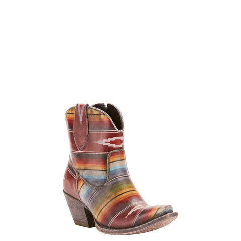 Ariat® Ladies Circuit Cruz Multicolor Saddle Blanket Boots 10025087