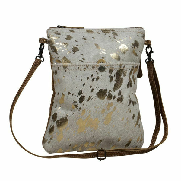 Myra Bag Speckled Leather Small Crossbody Bag S-2082