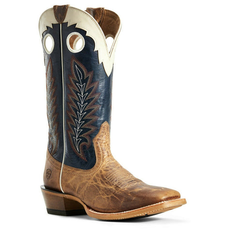 Ariat® Men's Dusted Wheat & Navy Real Deal Boots 10029694