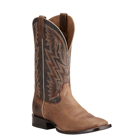 Ariat® Men's Ranchero Rebound Khaki & Dark Desert Boots 10021643 - Wild West Boot Store