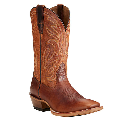 Ariat Men's Fire Creek Corral Cognac Aged Honey 10021677 - Wild West Boot Store