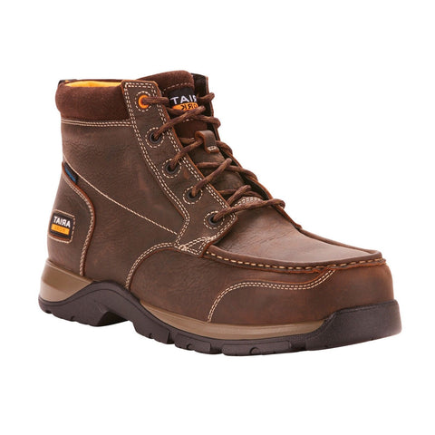 Ariat® Men's Edge LTE Chukka H2O Composite Toe Work Boots 10024953 - Wild West Boot Store