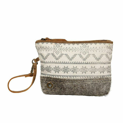 Myra Bag Canvas & Hairon Foxy Tribe Pouch Bag S-1240