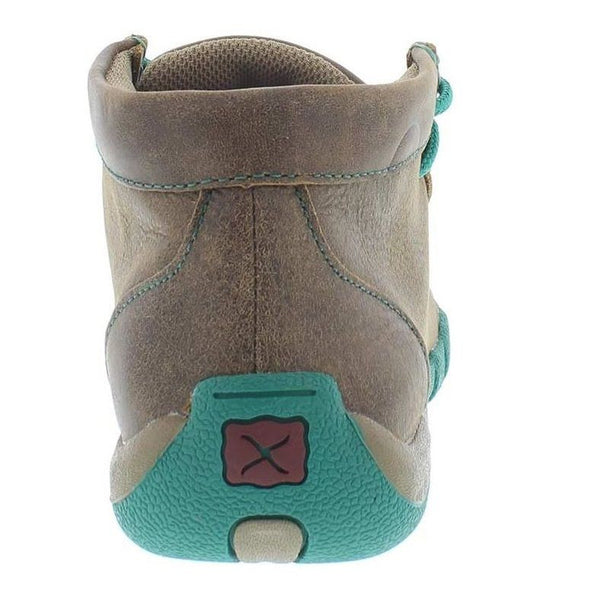 Twisted X Ladies Brown Driving Mocs WDM0020 - Wild West Boot Store - 4