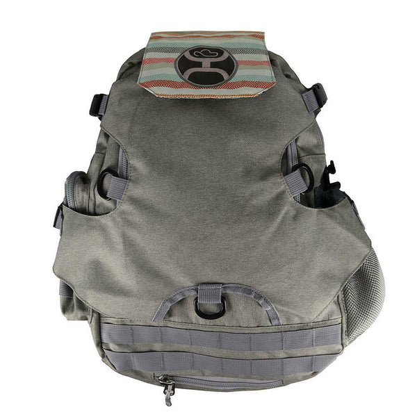 Hooey Mule Grey Backpack Bag BP026GY
