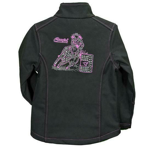 Cowgirl Hardware Girls Black Barrel Racer Jacket 492169-010