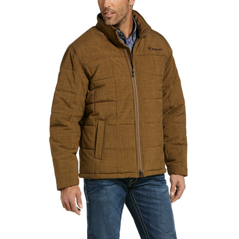 Ariat® Men's Crius Insulated Concealed Carry Khaki Jacket 10033003