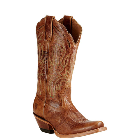 Ariat Ladies Bristol Tan Western Boots 10019949 - Wild West Boot Store
