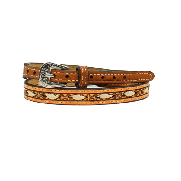Twister Leather Rawhide Lacing Tan Hatband 0204608