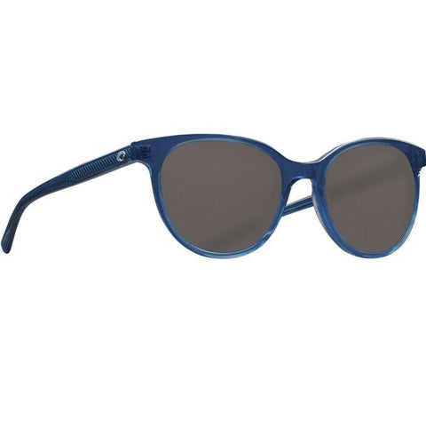 Costa Isla  Shiny Deep Teal Gray Glass Lens Sunglasses ISA 244 OGGLP