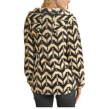 Powder River Outfitters Ladies Charcoal Aztec Pullover 51-6663-02