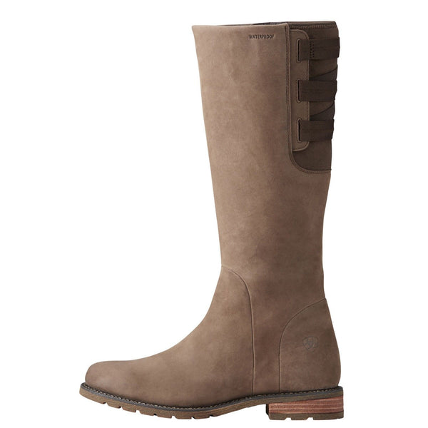 Ariat® Ladies Clara H2O Waterproof Fawn Brown Knee-High Boots 10021535 - Wild West Boot Store